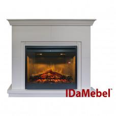 Каминокомплект IDaMebel Montreal DF2608-INT Белый