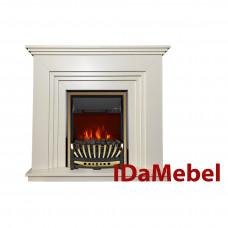 Каминокомплект IDaMebel Gloria Белый Aspen Gold
